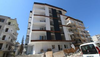 New Built Apartments Close to the Sea in Antalya Center, Construction Photos-2