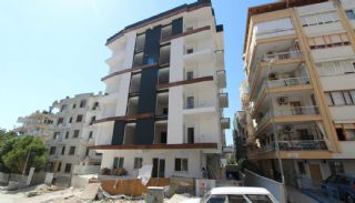 New Built Apartments Close to the Sea in Antalya Center, Construction Photos-3