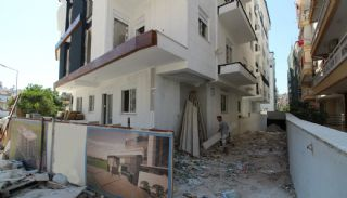 New Built Apartments Close to the Sea in Antalya Center, Construction Photos-4
