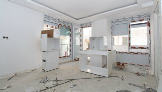 New Built Apartments Close to the Sea in Antalya Center, Construction Photos-12