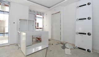 New Built Apartments Close to the Sea in Antalya Center, Construction Photos-13