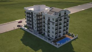 New Built Apartments Close to the Sea in Antalya Center, Antalya / Center