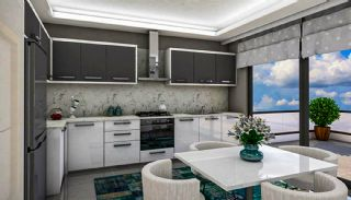 New Built Apartments Close to the Sea in Antalya Center, Interior Photos-1