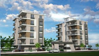 2 Bedroom Apartments with Separate Kitchen in Antalya, Antalya / Kepez
