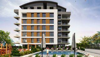 New Konyaalti Flats in the Elegant Complex with a Pool, Antalya / Konyaalti