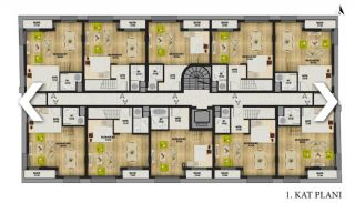 New Apartments with Convenient Design in Konyaalti Antalya, Property Plans-2
