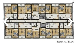 New Apartments with Convenient Design in Konyaalti Antalya, Property Plans-3