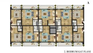 New Apartments with Convenient Design in Konyaalti Antalya, Property Plans-5