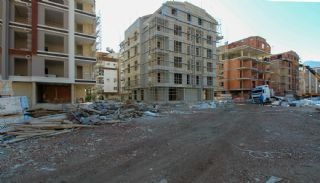 Nagelneue Wohnungen an einem günstigen Standort in Antalya, Foto's Bau-3