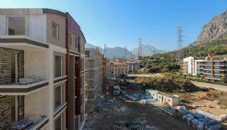 Nagelneue Wohnungen an einem günstigen Standort in Antalya, Foto's Bau-4