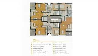 Spacious Flats in Complex with Rich Facilities in Antalya, Property Plans-3