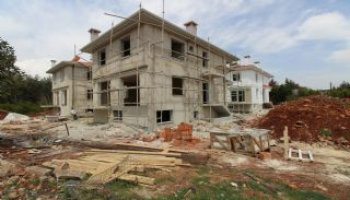 Uninterrupted Forest View Villas in Dosemealti Antalya, Construction Photos-6