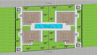 Uninterrupted Forest View Villas in Dosemealti Antalya, Property Plans-5