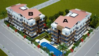 Key Ready Mountain View Flat in Antalya, Konyaaltı, Property Plans-1