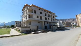 Fantastiska Lägenheter med Bergsutsikt i Konyaalti Antalya, Byggbilder-3