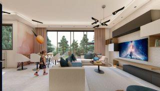 Fantastiska Lägenheter med Bergsutsikt i Konyaalti Antalya, Interiör bilder-2