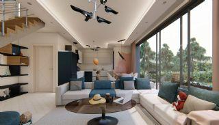 Fantastiska Lägenheter med Bergsutsikt i Konyaalti Antalya, Interiör bilder-4