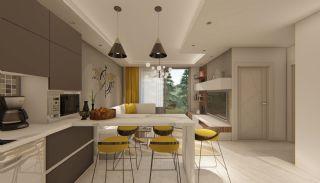 Fantastiska Lägenheter med Bergsutsikt i Konyaalti Antalya, Interiör bilder-5