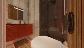 Fantastiska Lägenheter med Bergsutsikt i Konyaalti Antalya, Interiör bilder-13