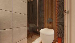 Fantastiska Lägenheter med Bergsutsikt i Konyaalti Antalya, Interiör bilder-14