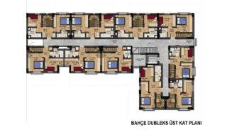 Fantastiska Lägenheter med Bergsutsikt i Konyaalti Antalya, Planritningar-3