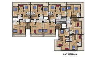 Великолепные Квартиры с Видом на Горы в Коньяалты, Анталия, Планировка -4