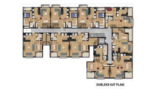 Великолепные Квартиры с Видом на Горы в Коньяалты, Анталия, Планировка -5
