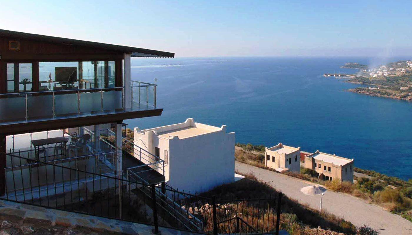 bodrum amazing sea view villa a modern villa with sea view. Black Bedroom Furniture Sets. Home Design Ideas