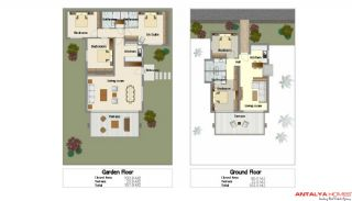 Gümbet Özel Villaları, Kat Planları-1