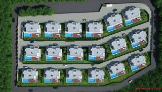 Bodrum Özel Villaları, Kat Planları-1