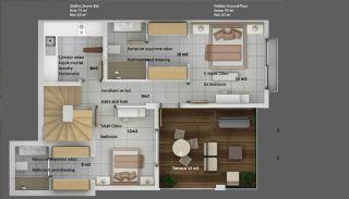 Tuzla Bodrum Apartmanı, Kat Planları-1