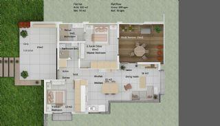 Tuzla Bodrum Apartmanı, Kat Planları-3