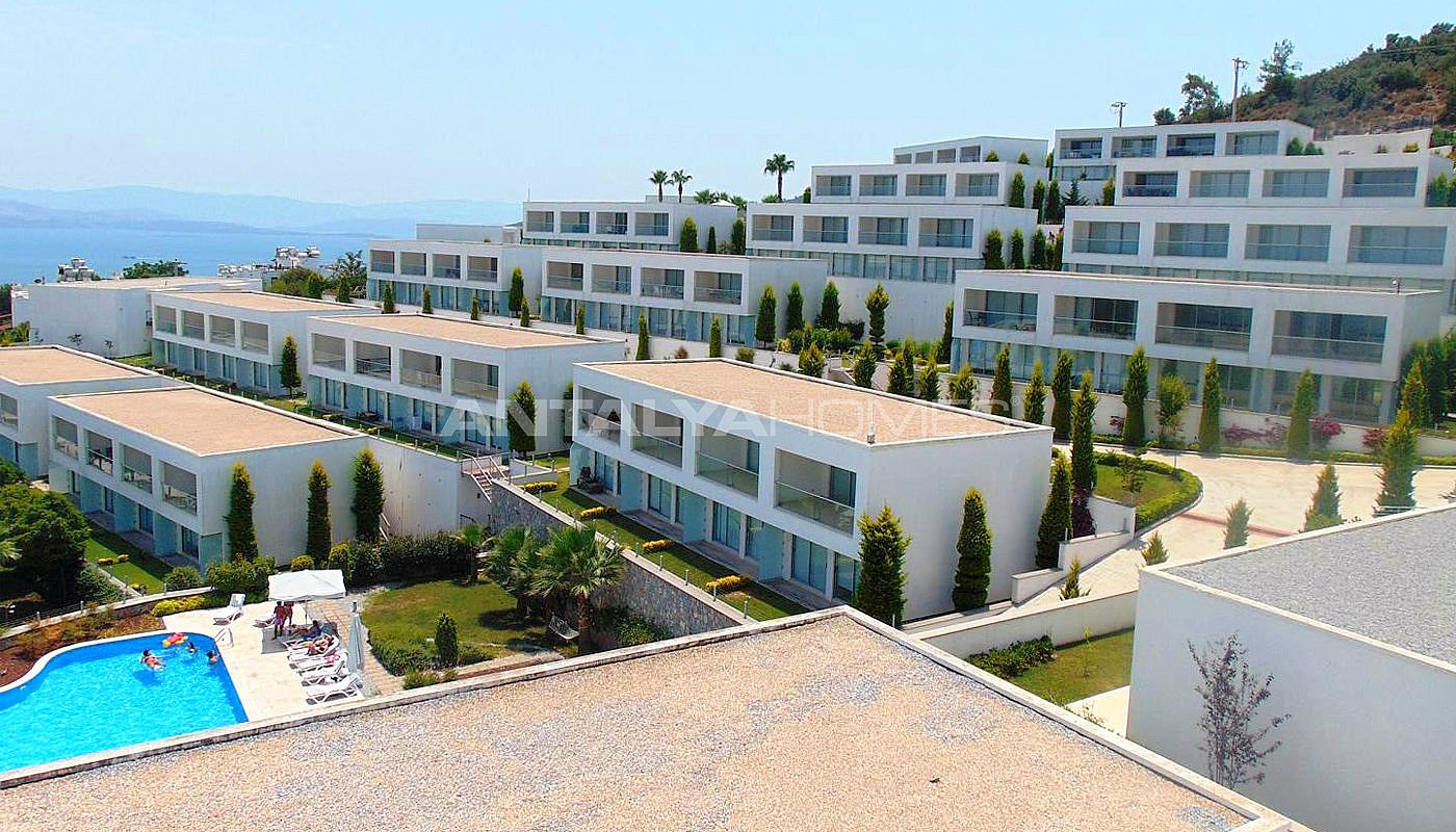 Ready To Move Waterfront Apartments For Sale In Gulluk Bodrum