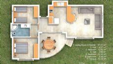 Atlantis Residence, Kat Planları-1