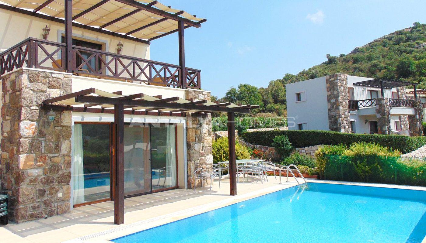Luxueuse villa individuelle gumusluk bodrum for Villa individuelle