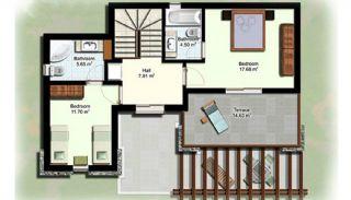 Gümüşlük'te Müstakil Villa, Kat Planları-1