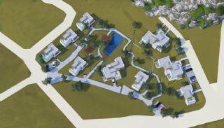Bodrum'da Sıfır Villalar, Kat Planları-1