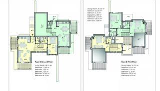 Bodrum'da Sıfır Villalar, Kat Planları-2