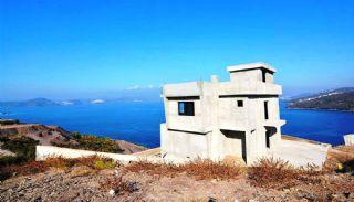 Bodrum'da Deniz Manzaralı Satılık Villa, İnşaat Fotoğrafları-1