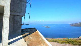 Bodrum'da Deniz Manzaralı Satılık Villa, İnşaat Fotoğrafları-8