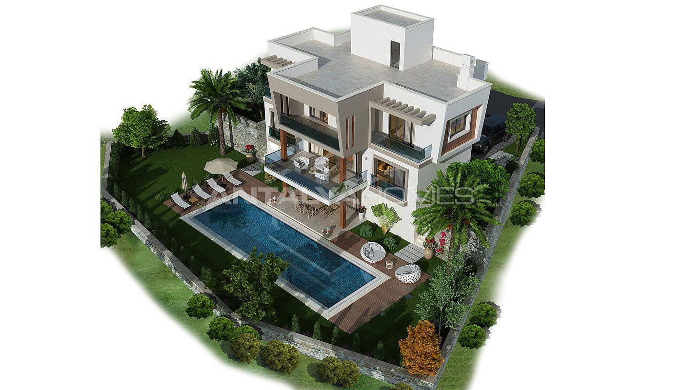 Villa individuelle vendre vue panaromic sur mer tuzla for Villa individuelle