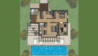 Bodrum'da Satılık Özel Tasarım Villa, Kat Planları-2