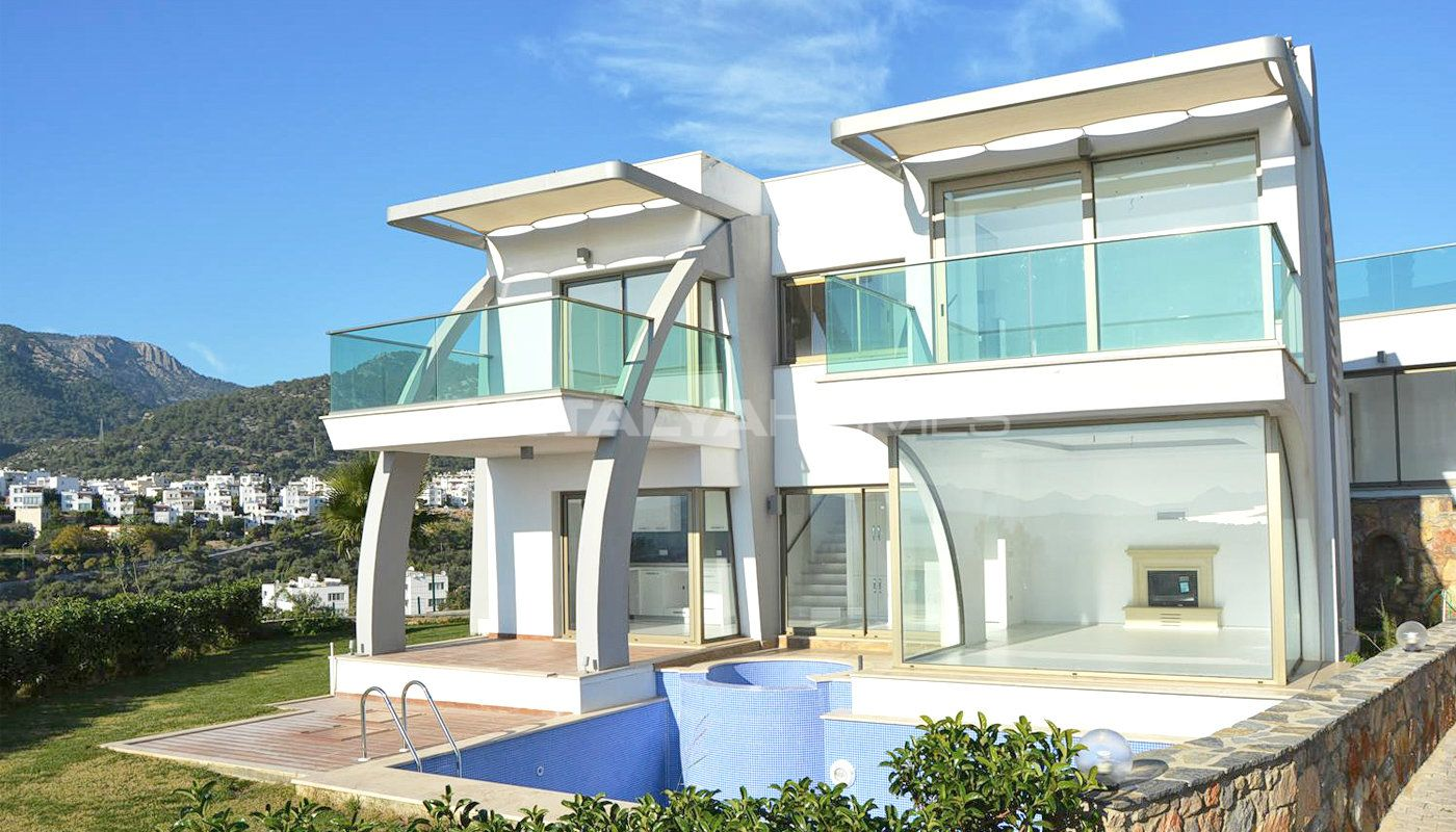 Villa individuelle de luxe bodrum proche du centre for Villa individuelle