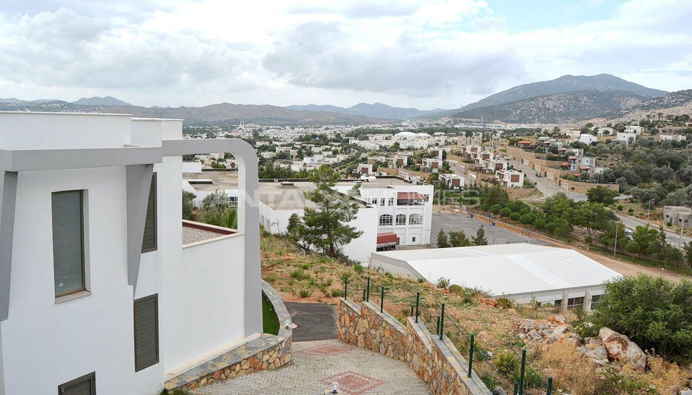 Nouvelle construction de villa priv e bodrum for Prix nouvelle construction