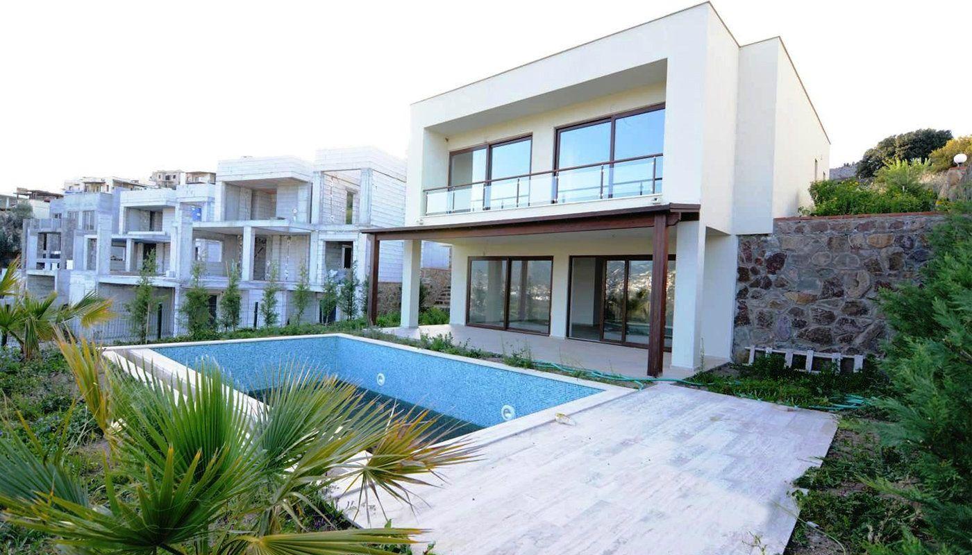 Villa individuelle vendre bodrum avec vue mer et piscine for Villa individuelle