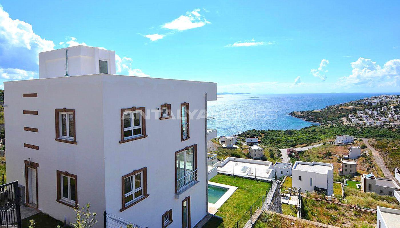 Achat immobilier boddrum tuzla avec vue mer et piscine for Achat mobilier
