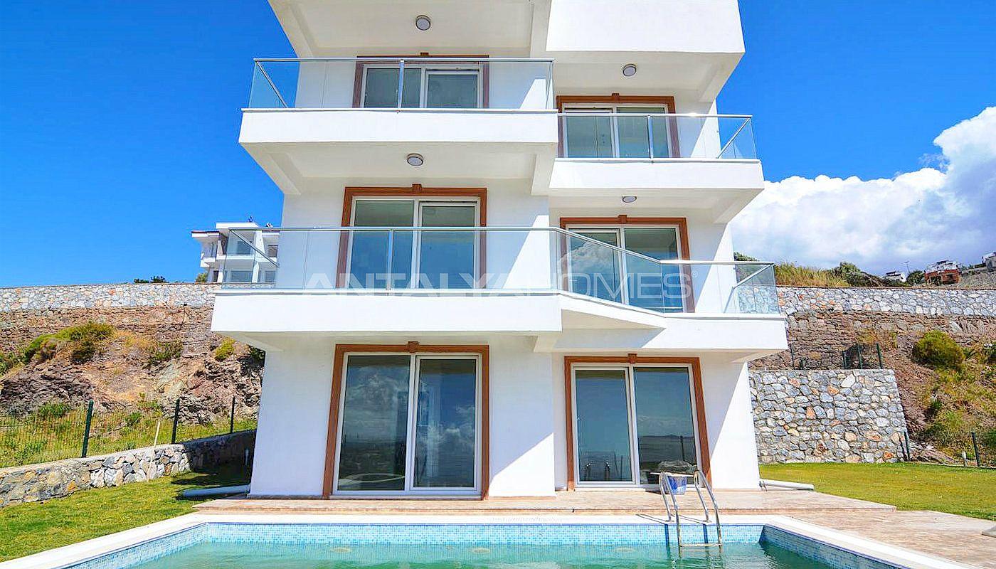Achat immobilier boddrum tuzla avec vue mer et piscine for Immobilier achat
