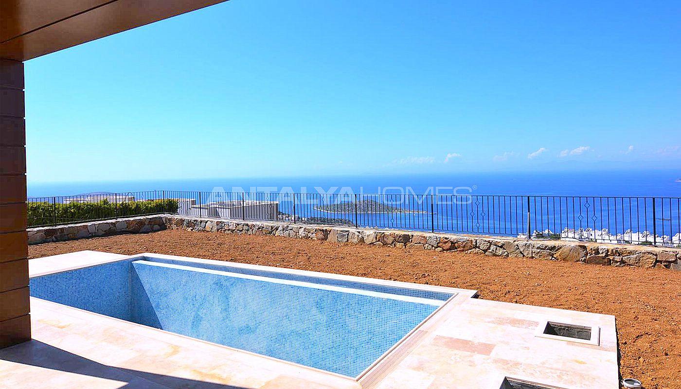 Villa de luxe bodrum avec vue mer piscine priv e et for Piscine privee