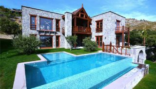 Stone Design Villa for Sale in Bodrum, Bodrum / Gumusluk