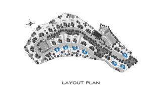 Eleganta hus till salu i Bodrum med många funktioner, Planritningar-1